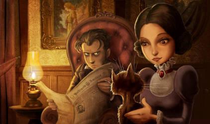 E.A. Poe's The Black Cat by Disezno