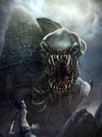 Monster of Nightmares - Dagon by Disezno