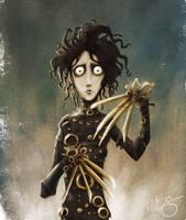 Edward Scissorhands by Disezno