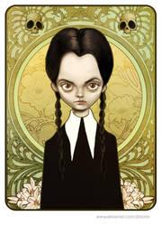 Wednesday Addams by Disezno