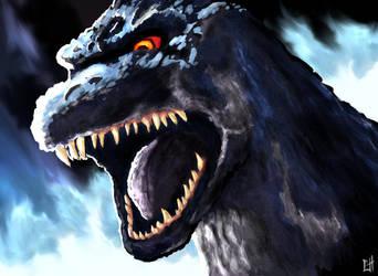 Godzilla by BoyGTO