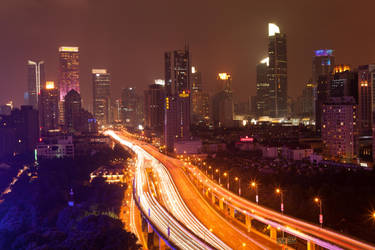 Shanghai by Aredelsaralonde