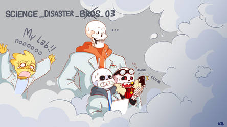 Science Disaster Bros 03 by Ketchupberry
