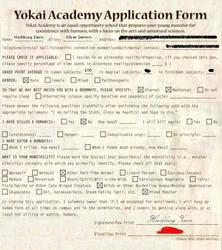 Zeon's Youkai Academy Form by InuKik4ever