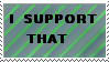 I support that - stamp by Little-Chibi-Girl