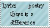 Lyrics and poetry - stamp by Little-Chibi-Girl