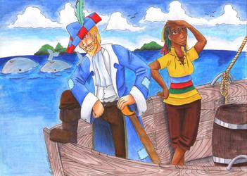 Captain Feron by konfuse