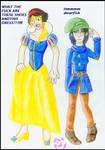 Princess and Dwarf by konfuse