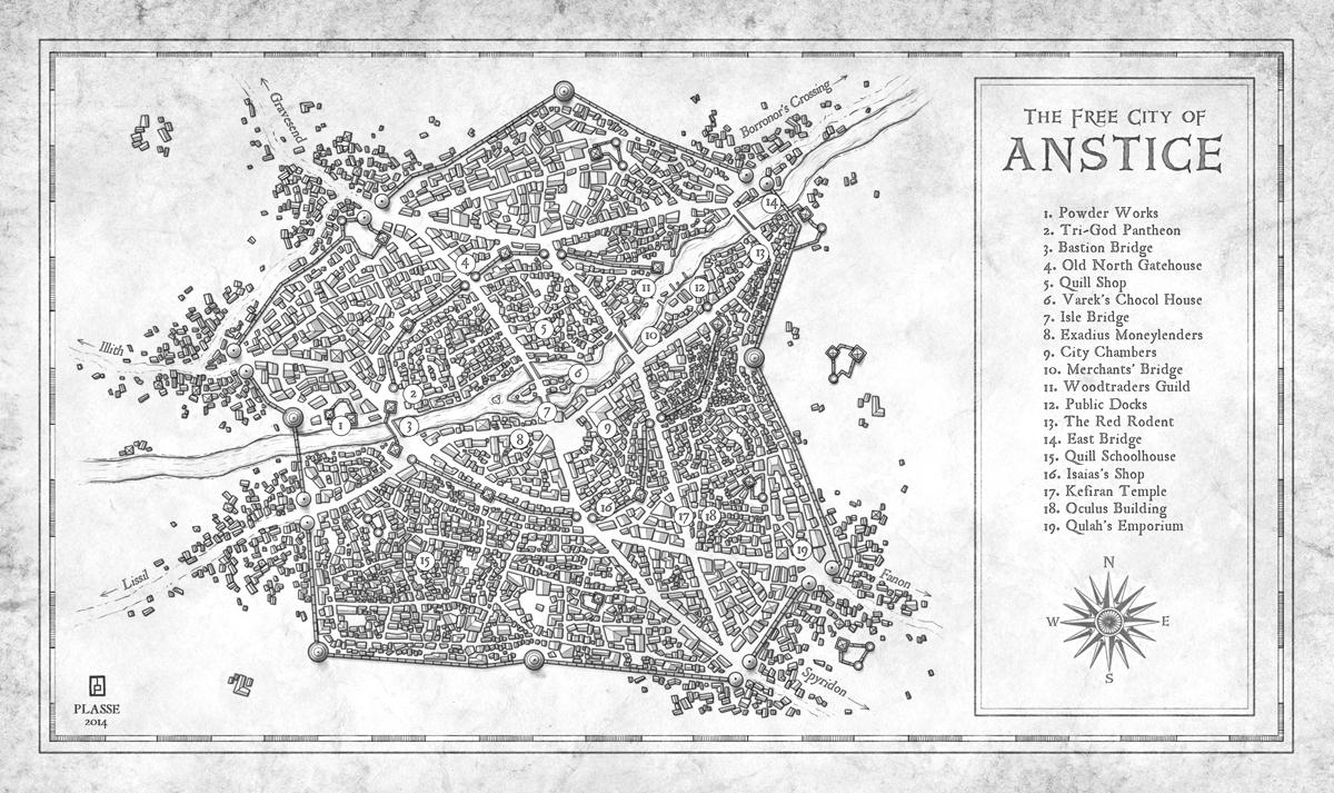 City of Anstice by MaximePLASSE