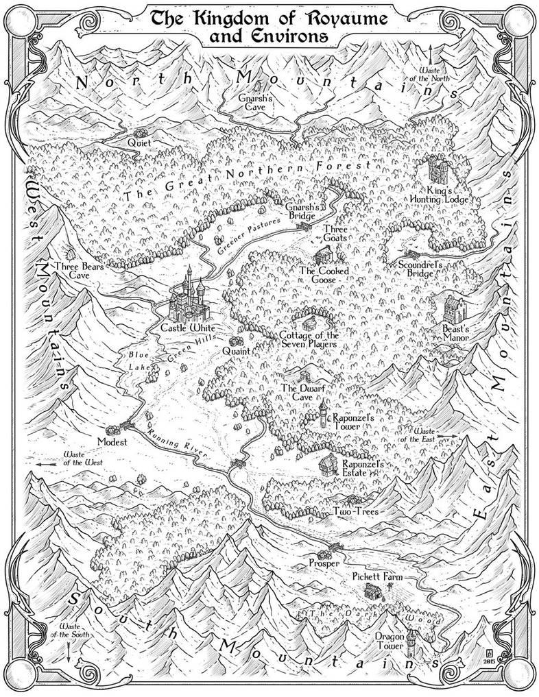 Kingdom of Royaume by MaximePLASSE