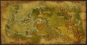 Mobile game map by MaximePLASSE