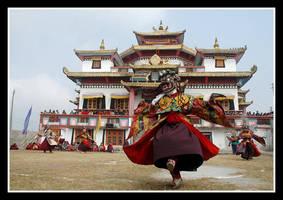Chaam dance by chinlop