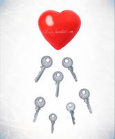 one heart, more keys by LiiQa