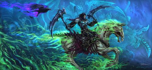 Darksiders 2 Death by no1hellangle