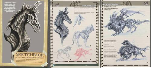 2d mag sketch book by no1hellangle