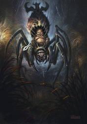 Baby-spider by no1hellangle