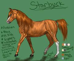 Starbuck Ref by Abiadura