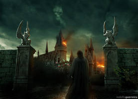 Battle of Hogwarts 2 by rodolfoguerreiro