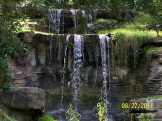 Oglebay waterfall by snigglefritz98