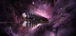 Cylon Resurrection Ship _WIP5_ by TodayV4