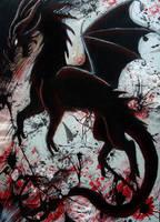 Dark Dragon by xiShadowWolfx
