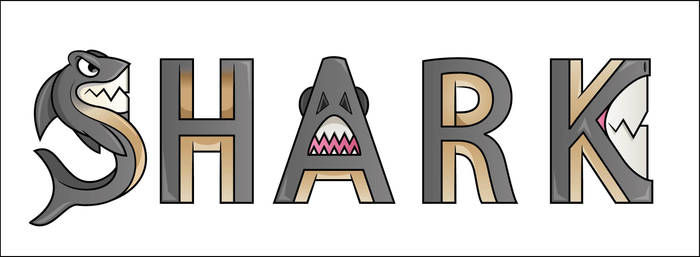 Shark font by THORNO-15