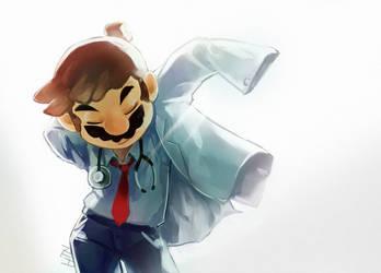 Dr Mario by hitonatsu