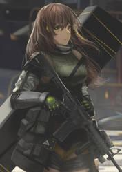 M4A1 by Kyokazu