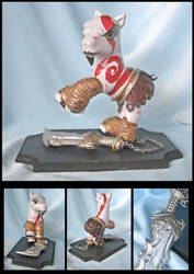 Kratos God of War by sammytvr