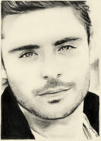 Zac Efron No.2 by sammytvr
