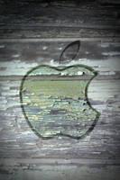 Iphone 4 Apple Wallpaper Paint by thekingofthevikings