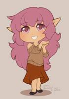 tiny Eyrin by veroro