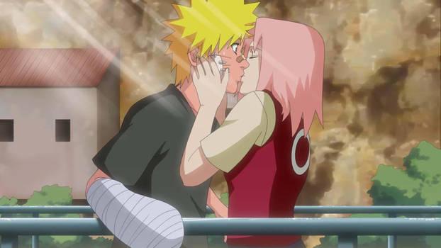 Naruto and Sakura by LadyGT
