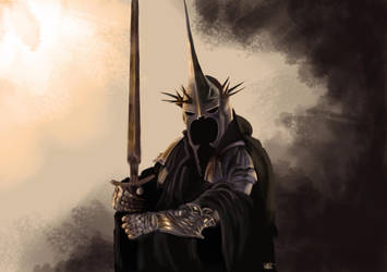 Witch-king of Angmar by AskraOne