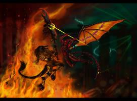 The Battle by fulmenoid
