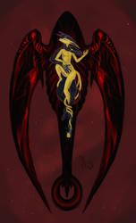 Black wings by fulmenoid