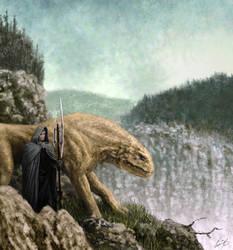 BEAST MASTER 1 by glenn cummings by CUMMINGSart