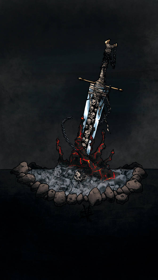 Cursed Sword by TravTheMad