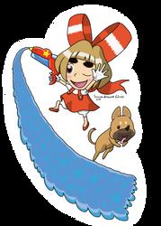 Mysterious Girl, Lulu! by EmmaDrawsLines