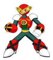 Megaman Robot Master: Pyro Man by SnowmanEX711