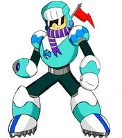 Megaman Robot Master: Polar Man by SnowmanEX711
