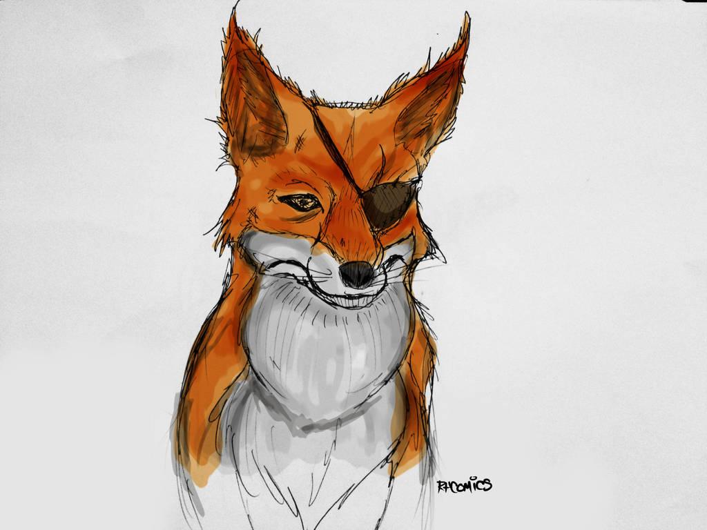 josh the giant fox by rhcomics on deviantart