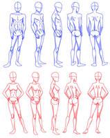 body rotation by Flipfloppery