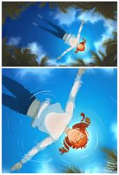 Floating by Flipfloppery