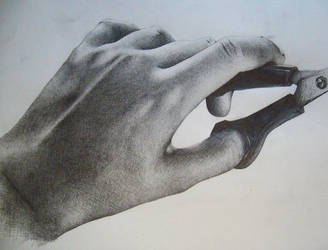Hand Drawing by Ponce