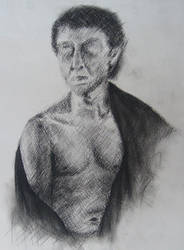 Figure Crosshatching by Ponce