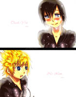 Kingdom Hearts 358/2 Days... Roxas/Xion by Krissychan2