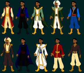 Cassim Outfits by Cassim-Fan