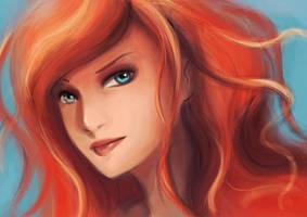 Ariel by Di-Din