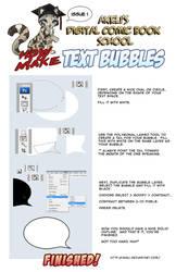 Comic Tutorial - Text Bubbles by akeli